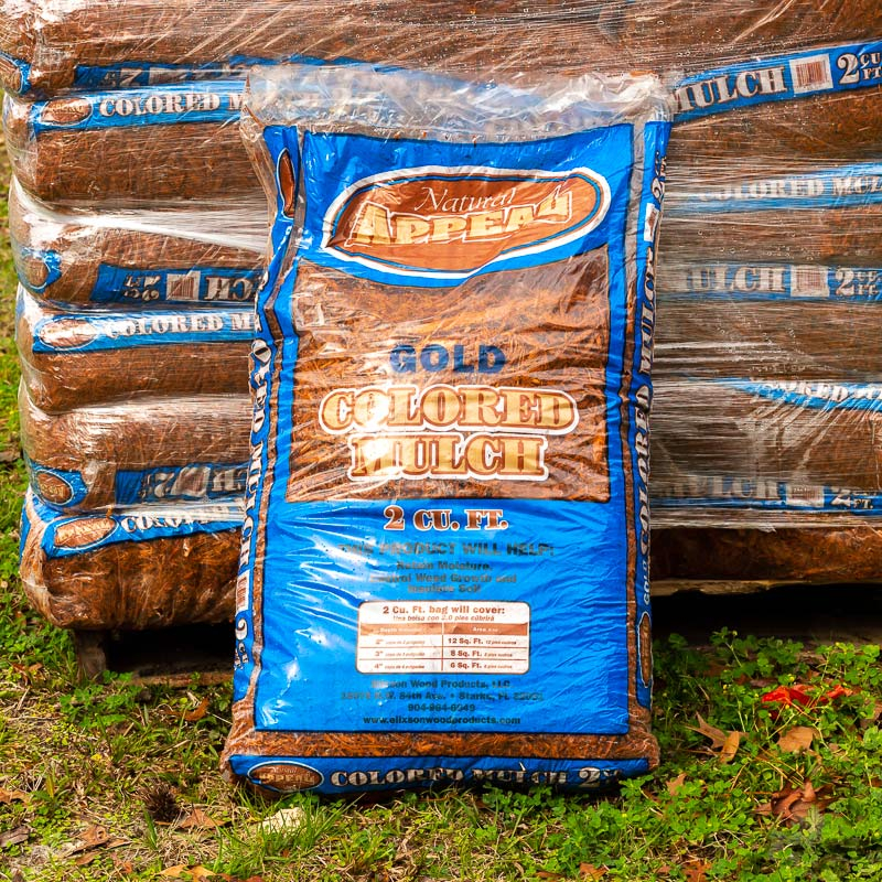 gold mulch bags for sale jacksonville fl