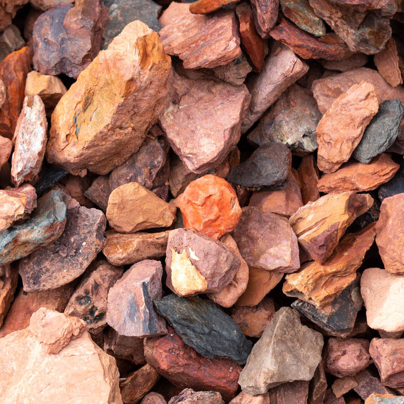 Red Rock Crimson Gravel for Sale Jacksonville FL