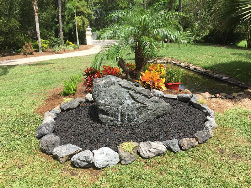 Custom Water Feature Jacksonville FL