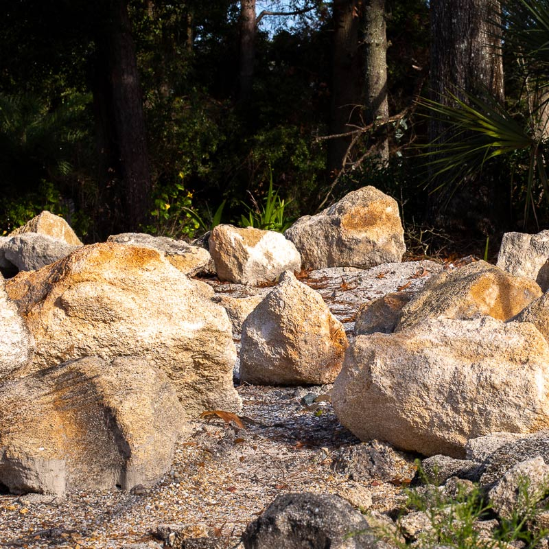 Large Coquina Rocks for sale jacksonville fl