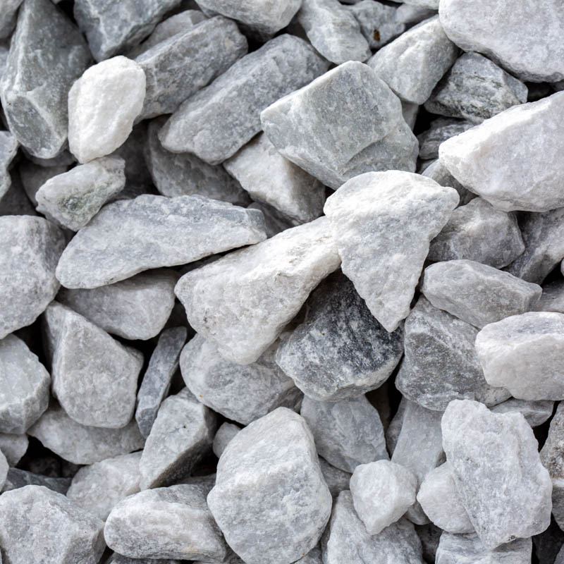 White Marble Gravel for Sale Jacksonville FL