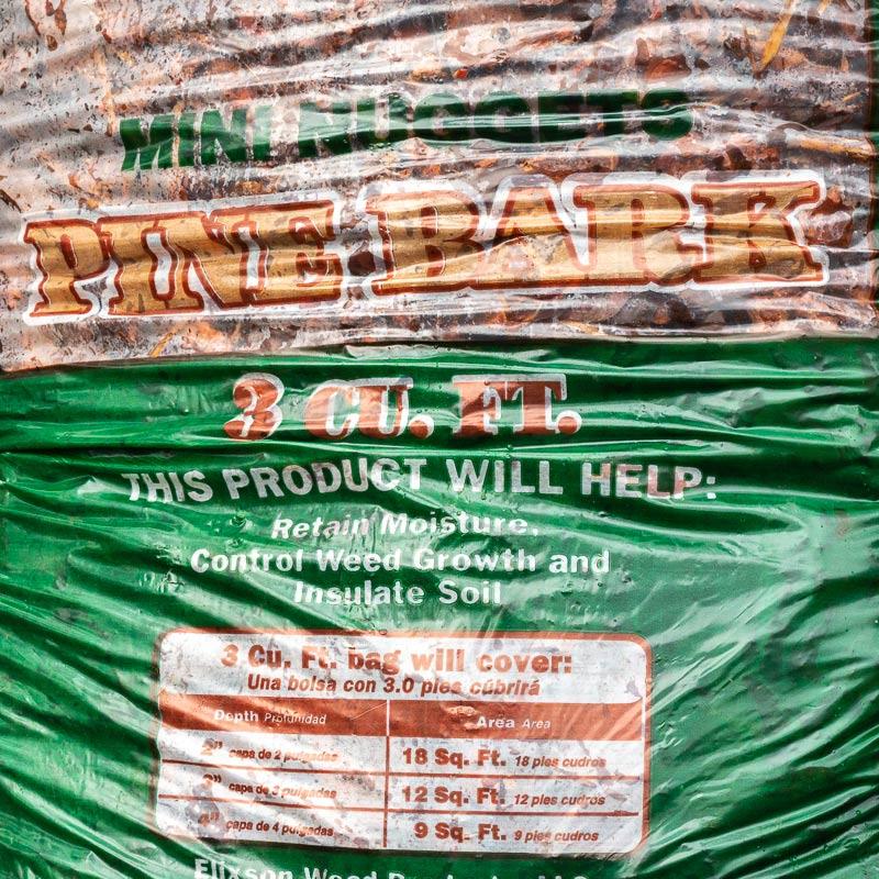 Pine Bark Mini Nuggets Mulch Bags